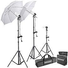 Neewer® 600W 5500K Photo Studio Day Light Umbrella Continuous Lighting Kit
