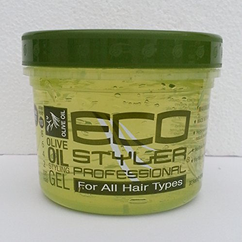 Eco Styler Eco Professional Olive Oil Styling Gel Maximum Hold For All Hair Types 355Ml