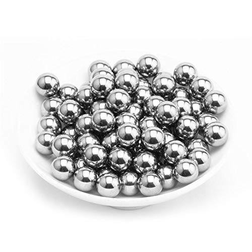 Evengle 1/4 Inch (0.25'') Stainless Steel Solid Sphere Balls (Pack of 100)