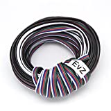EvZ 5 Color 10m RGBW Extension Cable Line for LED