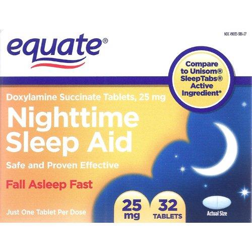 Equate: Night Time Sleep Aid Tablets, 32 ct