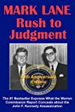 Rush to Judgment by Mark Lane front cover