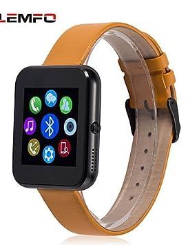 LEMFO lf09 Reloj Inteligente Bluetooth SmartWatch APK de muñeca para Apple iOS Smartphone Android hombres mujeres
