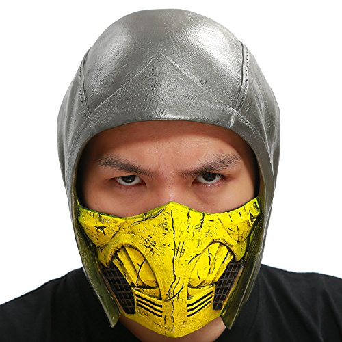 Scorpion Helmet Mask Costume Accessories for Halloween PVC Classic