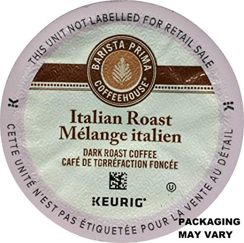 Barista Prima Italian Roast Coffee K-Cup, 96 Count (Packaging May Vary) by Barista Prima