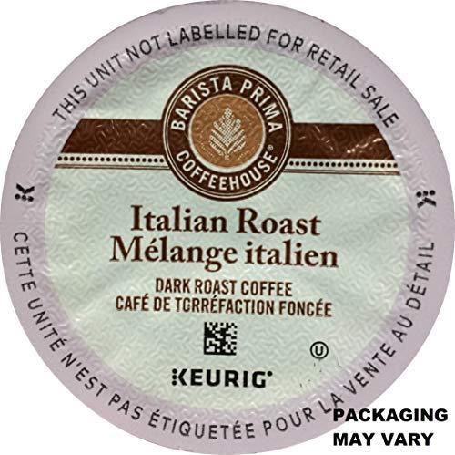Barista Prima Italian Roast Coffee K-Cup, 96 Count (Packaging May Vary) (Barista Prima Coffee K Cups)