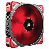 Corsair ML120 Pro LED, Red, 120mm Premium Magnetic Levitation Cooling Fan, CO-9050042-WW