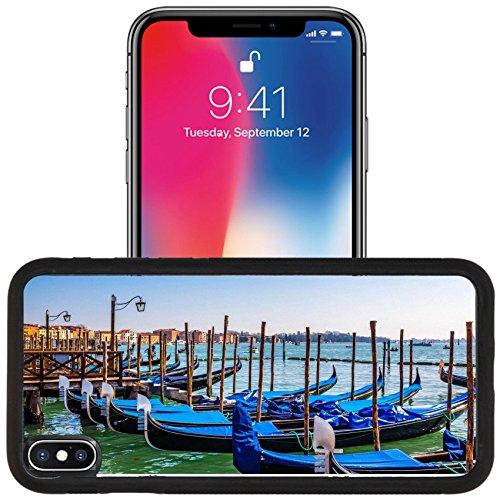 x iPhone 10 Aluminum Backplate Bumper Snap Case IMAGE ID: 35375045 Gondolas boat (Gondola Boats)