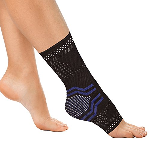 Ankle Brace, Compression Support Sleeve with Gel Pads for Recovery and Support of Sprained Swollen Ankle, Edema, Plantar Fasciitis, Heel Spurs, Achilles Tendon Ankle Brace, fo Males, Women by Lifehapps – DiZiSports Store