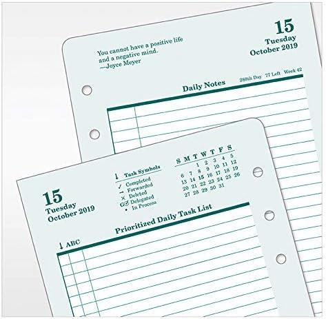 Oct 2019 FranklinCovey Pocket Original Daily Ring-Bound Planner Sep 2020