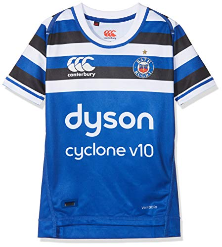 - Canterbury 2018-2019 Bath Home Pro Vapodri Rugby Shirt (Kids)
