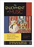 Enjoyment of Music, Short. (Looseleaf) - With Access - 12th edition