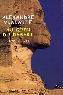 Au coin du désert par Vialatte