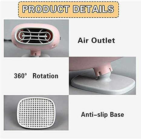 Pink SONYANG Upgrade Car Heater 12V Fast Heating with Heating /& Cooling Function Defroster Defogger Demister Heater Fan for Vehicle Windshield