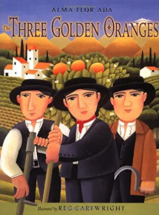 book cover of The Three Golden Oranges