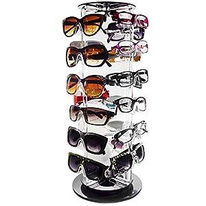 Mooca Acrylic Rotating Eyewear Display, 24 Frames