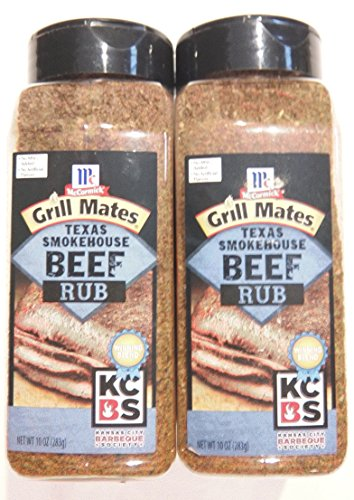 Texas Brisket Rub (McCormick Grill Mates Texas Smokehouse Beef Rub 10 Ounce (Pack of 2))