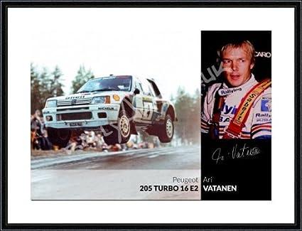 "Ari Vatanen ""todo o nada Peugeot 205 Turbo 16 ..."