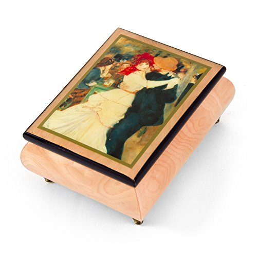 Handcrafted Ercolano Music Box Featuring