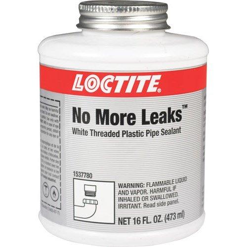 (Loctite 1537780 No More Leaks Plastic Pipe Thread Sealant, 16 Oz. Can)