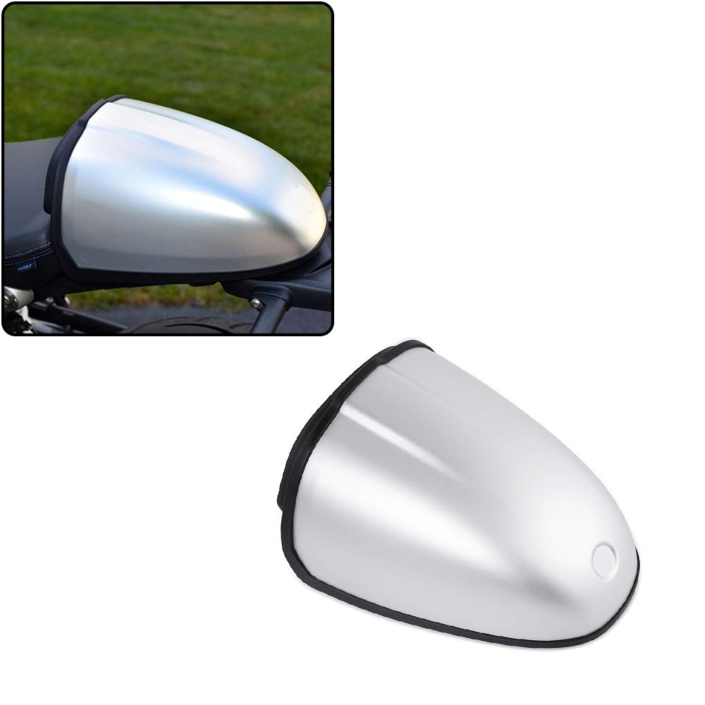 XX eCommerce Motorcycle Motorbike Rear Pillion Seat Cowl Hump Cover Cowl for 2014-2017 BMW R Nine T R9T (Black)