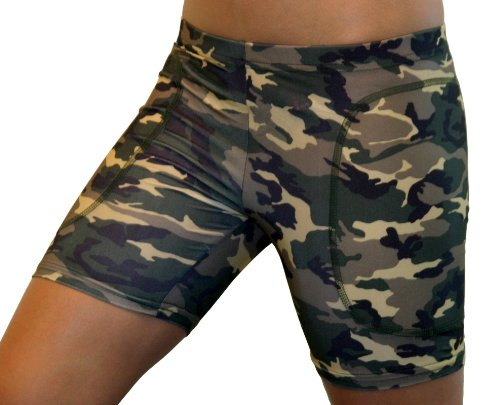 Camouflage Softball Sliding Shorts (2 Colors)