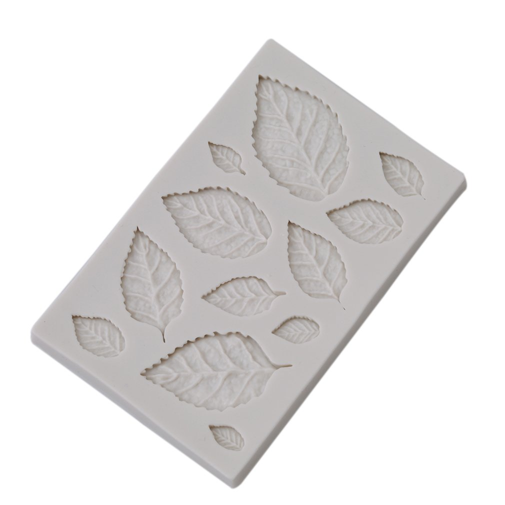 Feather Wing Leaves Silicone Cake Decor Mold Fondant Sugarcraft Chocolate Mould