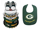 Green Bay Packers Diaper Cake - Baby Shower Centerpiece Gift Set