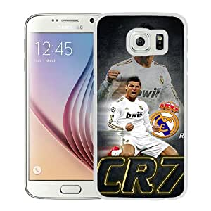Fashionable And Unique Designed Case For Samsung Galaxy S6 Phone Case With CR7 White