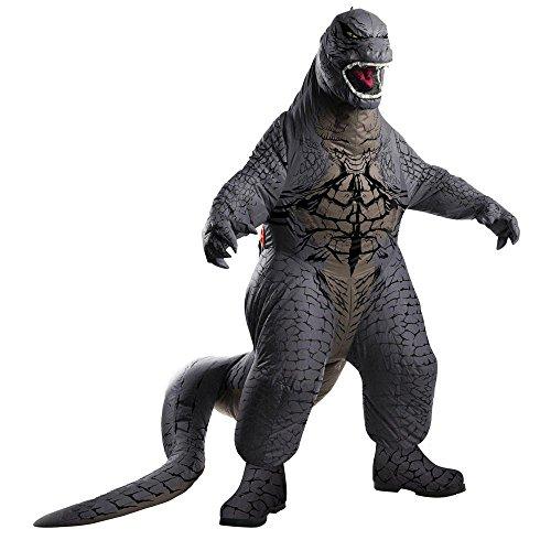 Warner Bros. Men's Godzilla Deluxe Inflatable Costume Standard (Godzilla Inflatable Costume)