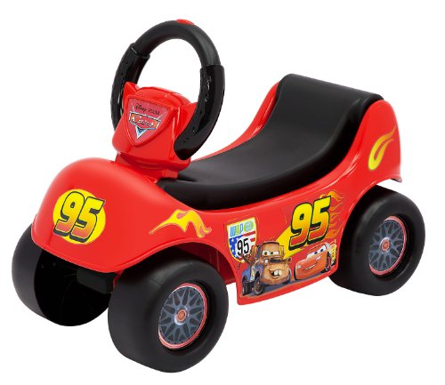 Cars Disney Happy Hauler Ride On]()