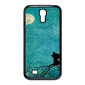 Case For Samsung Galaxy S4, Cats Case For Samsung Galaxy S4, Black Yearinspace128284