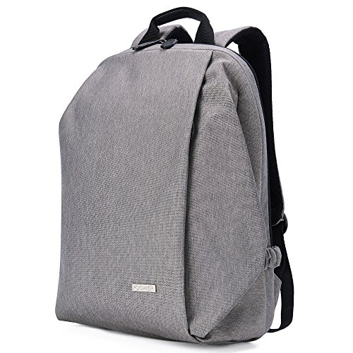 Laptop Backpack Casual Travel College School Bags Anti Thief With Two Compartment Business Water Resistant Daypack for Men and Women Fit Under 15.6 Inch Laptop & Notebook - Grey