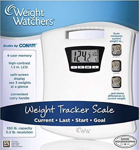 Weight Watchers Weight Tracker Scale 1 ea (Pack of 2)