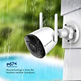 Amcrest 1080P WiFi Camera Outdoor, Smart Home 2MP