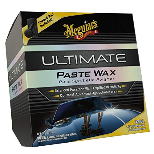 Meguiar's G18211 Ultimate Paste Wax - 11 oz. (Turtle Wax Car Polish)