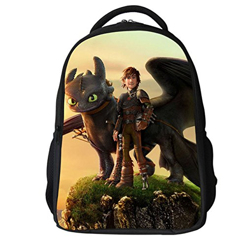 Costumes Hiccup Cosplay (How to Train Your Dragon Backpack Hiccup Cosplay Bag Waterproof Schoolbag)