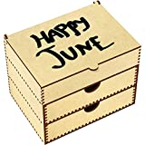 Azeeda 'Happy June' Vanity Case / Makeup Box (VC00008506)