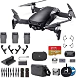 DJI Mavic Air Fly More Combo (Onyx Black) Ultimate Bundle - Extra Extreme microSDXC Card, Landing Pad, Landign Gear and More
