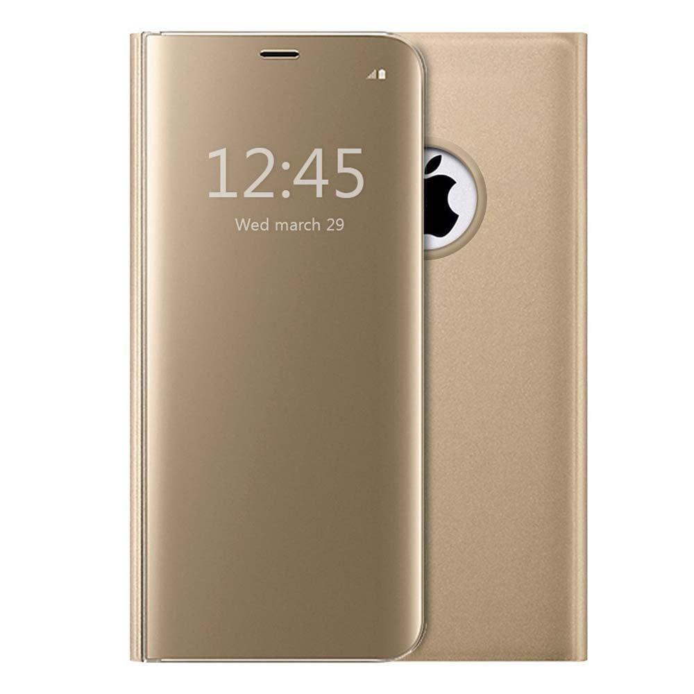coque iphone 8 plus or rose luxe femme