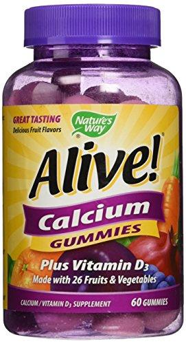 Cheap Nature's Way Alive! Calcium Gummies Plus Vitamin D3 – 60 CT