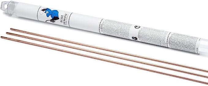 """ER80S-B2 Mild Steel TIG Welding Rod .045/"""" diameter pack 36/"""" long 1lb"""