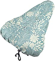 DaXi1 Spring Floral Pattern Bike Seat Cover Water Dust Resistant Gel Bicycle Saddle Cushion Universal Fit Bike