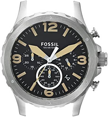 Fossil Men's C221033 Nate Chronograph Stainless Steel 22mm Case