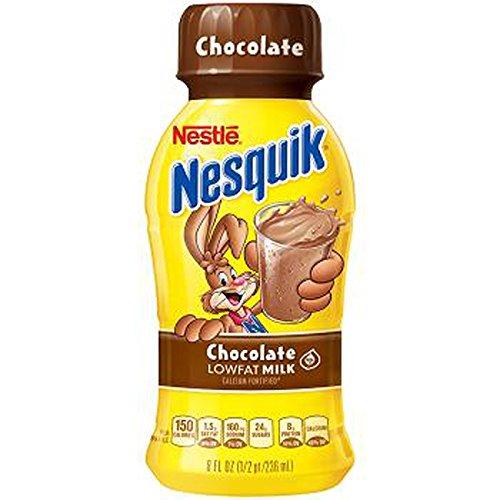 Product Of Nesquik, Low Fat Milk - Chocolate, Count 10 (8 oz) - Milk/Yogurt/Smoothie / Grab Varieties & Flavors by Product Of Nesquik