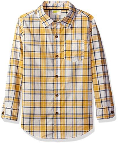 crazy-8-big-boys-yellow-plaid-woven-shirt-multi-l