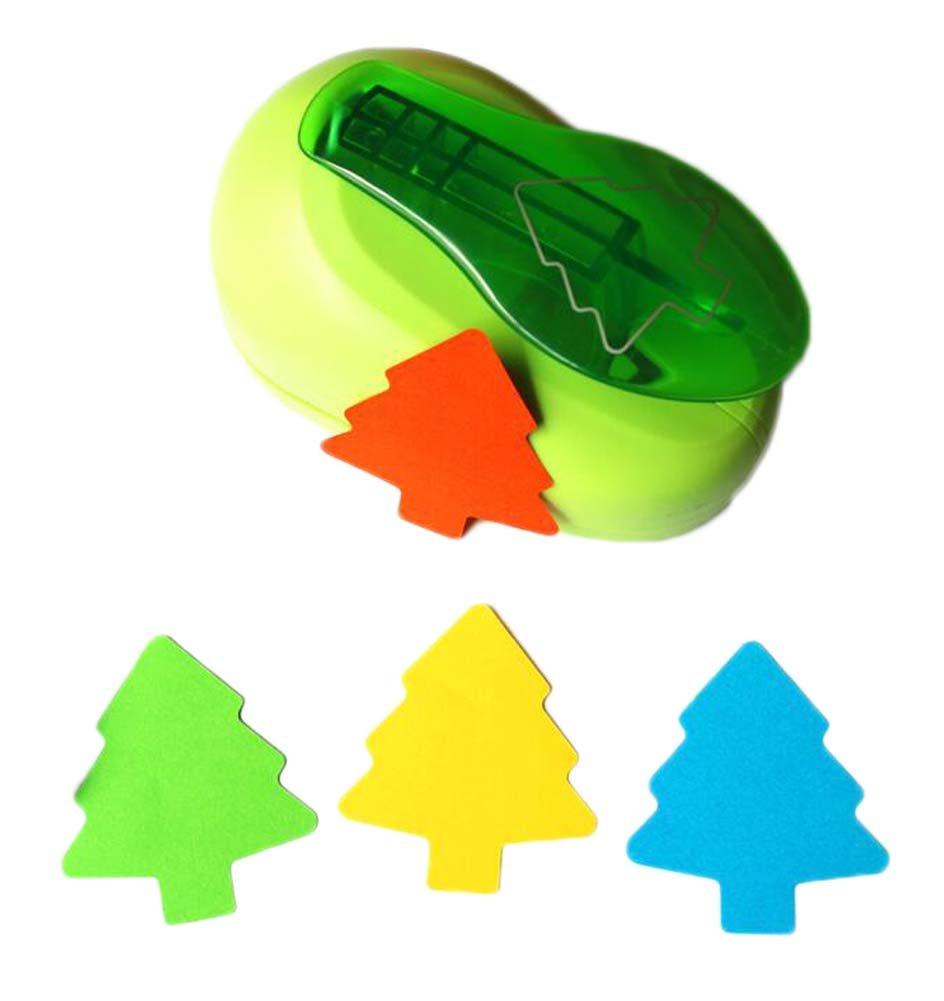 Drü cken Sie DIY Tree Shaped Paper Craft Punch Hole Puncher East Majik