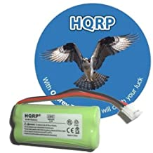 HQRP Cordless Phone Battery for AT&T Lucent BT18433, BT28433, General Electric GE 5-2734, Gold Peak GP70AAAH2BMJZR, Sanik 2SN-AAA70H-S-J1, V-Tech 2SNAAA65HS, Sanik 2SV-AAA65H-S-J1 2SN-AAA65H-S-J1 Replacement plus Coaster