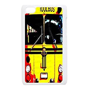 Clzpg Drop-ship Ipod Touch 4 Case - School Bus plastic case