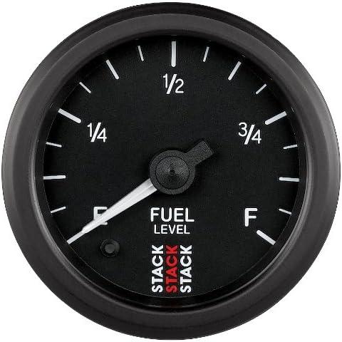 STACK ST3315 Black 52mm 0-280 Ohm Professional Stepper Motor Fuel Level Gauge